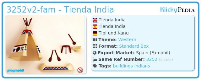 Playmobil 3252v2-fam - Tienda India