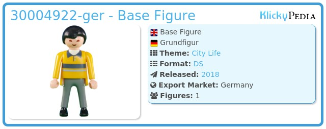 Playmobil 30004922-ger - Base Figure