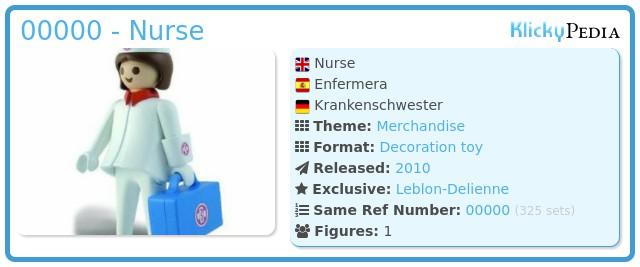 Playmobil 00000 - Nurse