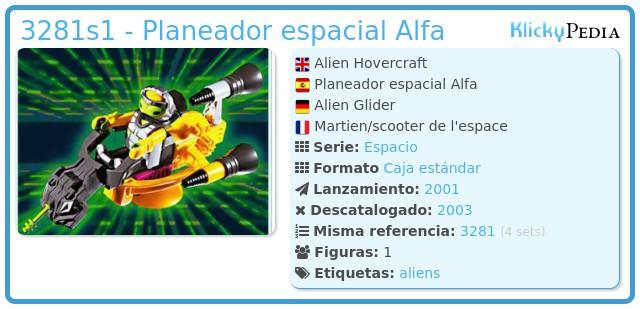 Playmobil 3281s1 - Planeador espacial Alfa