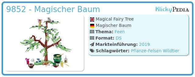 Playmobil 9852 - Magischer Baum