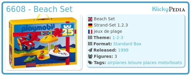 Playmobil 6608 - Beach Set
