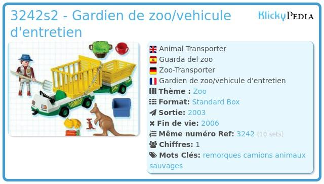 Playmobil 3242s2 - Animal Transporter