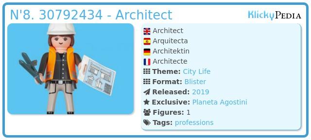 Playmobil N'8. 30792434 - Architect