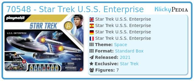Playmobil 70548 - Star Trek U.S.S. Enterprise