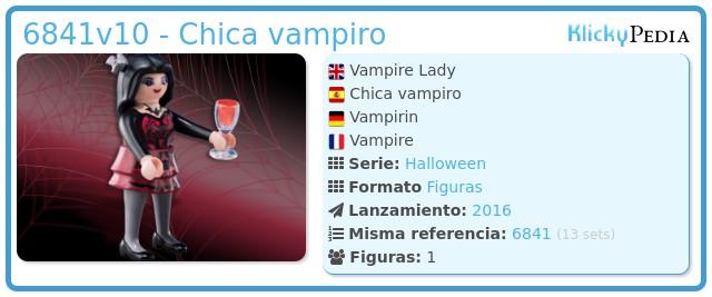 Playmobil 6841v10 - Chica vampiro