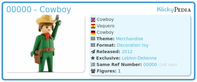 Playmobil 00000 - Cowboy