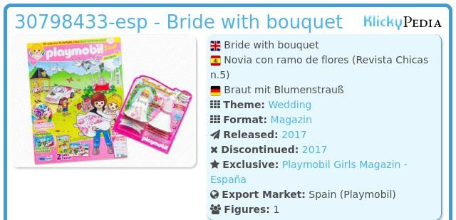 Playmobil 30798433-esp - Bride with bouquet