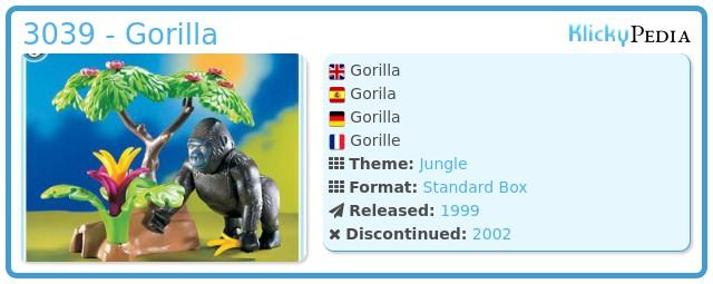 Playmobil 3039 - Gorilla