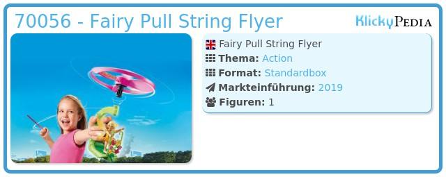 Playmobil 70056 - Fairy Pull String Flyer