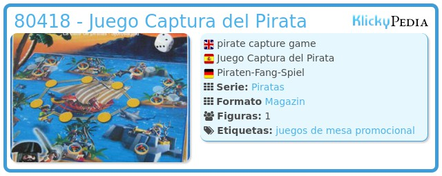 Playmobil 80418 - Juego Captura del Pirata
