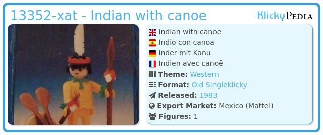 Playmobil 13352-xat - Indian