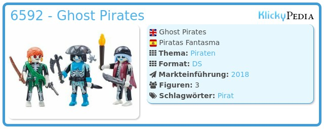 Playmobil 6592 - Ghost Pirates