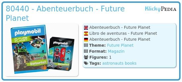 Playmobil 80440 - Abenteuerbuch - Future Planet