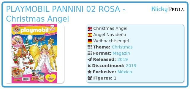 Playmobil PLAYMOBIL PANNINI 02 ROSA - Christmas Angel