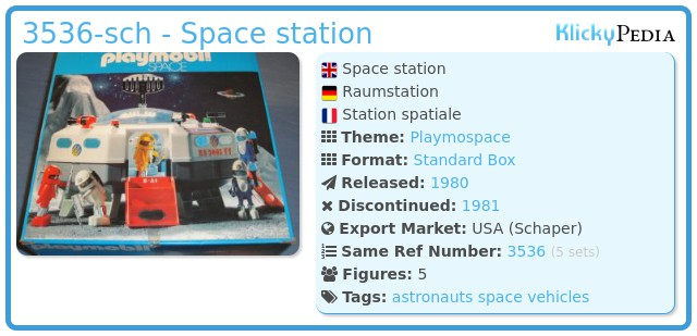 Playmobil 3536-sch - Space station