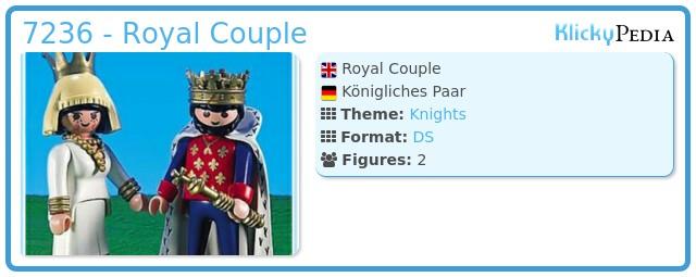 Playmobil 7236 - Royal Couple