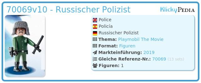 Playmobil 70069v10 - Police