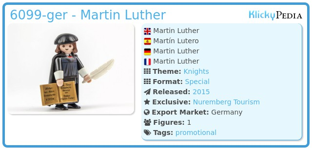 Playmobil 6099-ger - Martin Luther