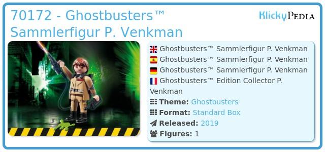 Playmobil 70172 - Ghostbusters™ Sammlerfigur P. Venkman