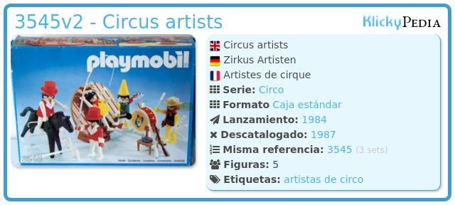 Playmobil 3545v2 - Circus artists