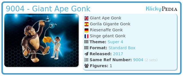Playmobil 9004 - Giant Ape Gonk