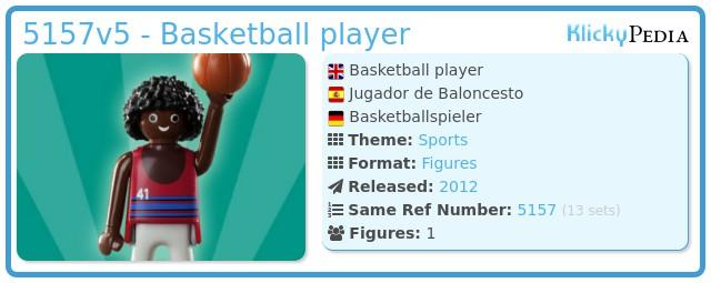 Playmobil 5157v5 - Basketball player