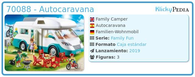 Playmobil 70088 - Auto-caravana