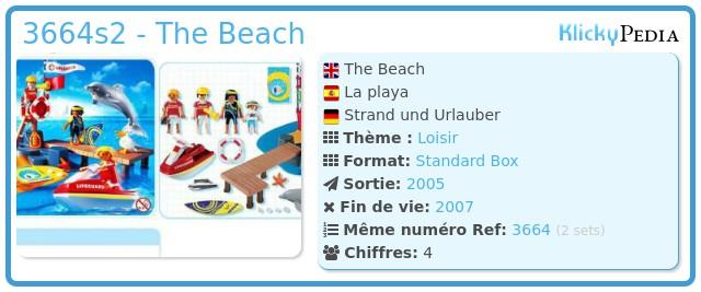 Playmobil 3664s2 - The Beach