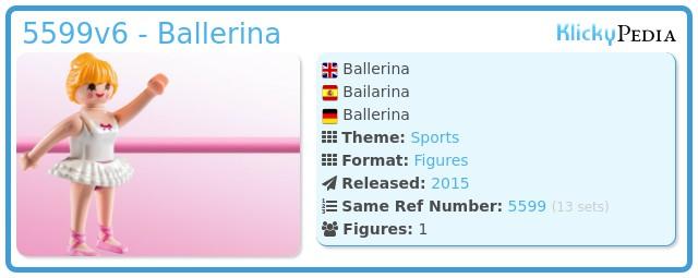 Playmobil 5599v6 - Ballerina