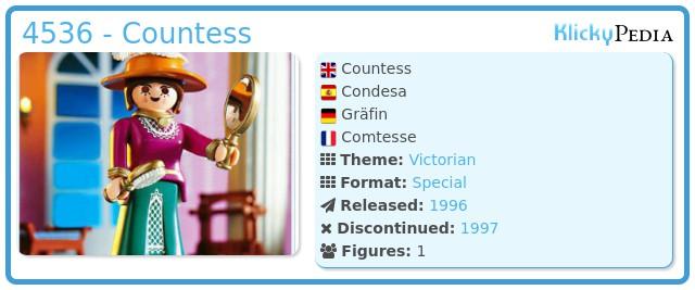 Playmobil 4536 - Countess