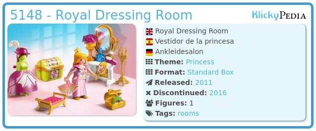 Playmobil 5148 - Royal Dressing Room