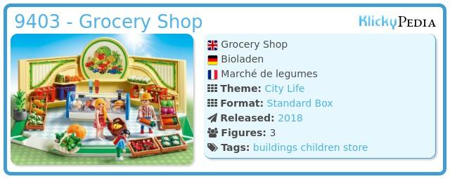 Playmobil 9403 - Grocery Shop