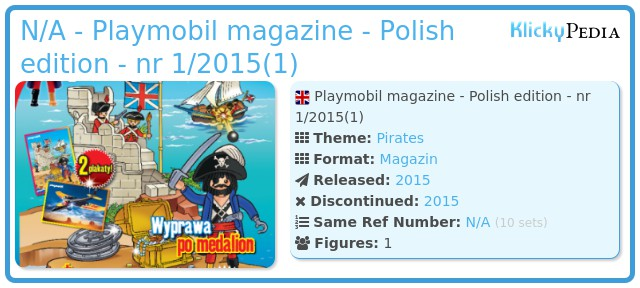 Playmobil N/A - Playmobil magazine - Polish edition - nr 1/2015(1)