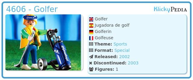Playmobil 4606 - Golfer