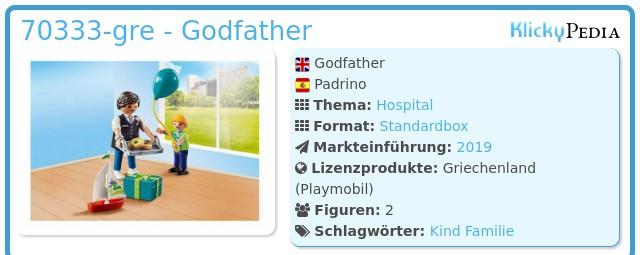 Playmobil 70333-gre - Godfather
