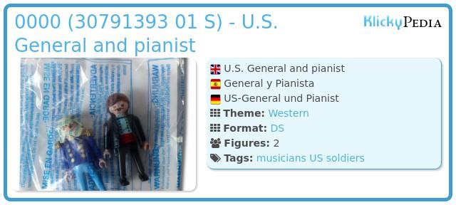 Playmobil 0000 (30791393 01 S) - U.S. General and Gunfighter
