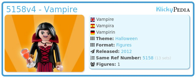 Playmobil 5158v4 - Vampiresa