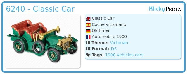 Playmobil 6240 - Classic Car