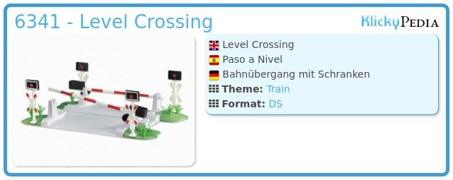 Playmobil 6341 - Level Crossing