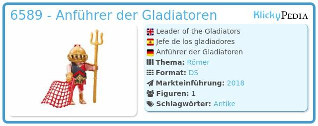 Playmobil 6589 - Anführer der Gladiatoren
