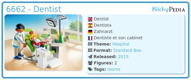 Playmobil 6662 - Dentist