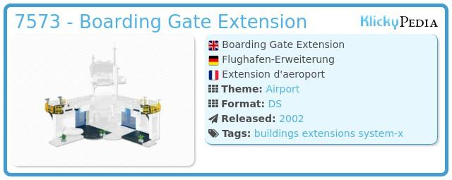 Playmobil 7573 - Boarding Gate Extension