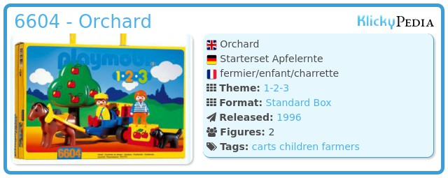 Playmobil 6604 - Orchard