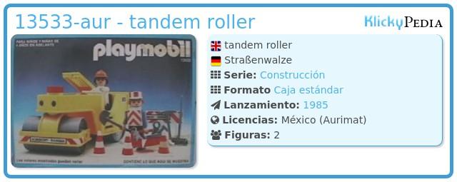Playmobil 13533-aur - tandem roller