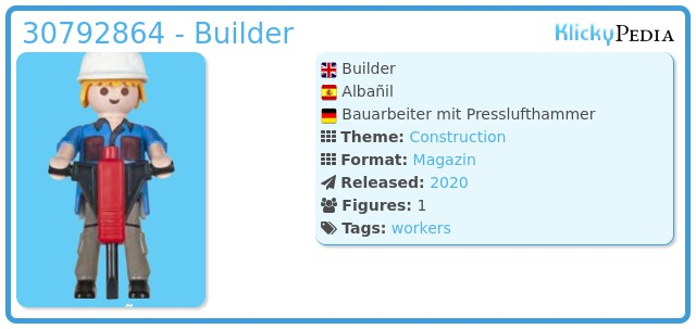 Playmobil 30792864 - Builder