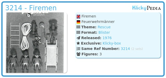 Playmobil 3214 - Firemen