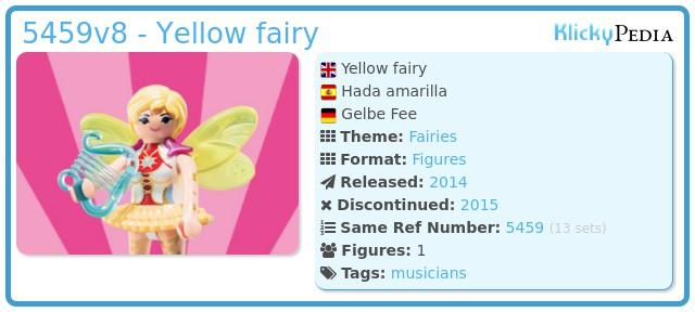 Playmobil 5459v8 - Yellow fairy