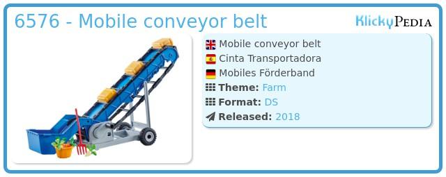 Playmobil 6576 - Mobile conveyor belt