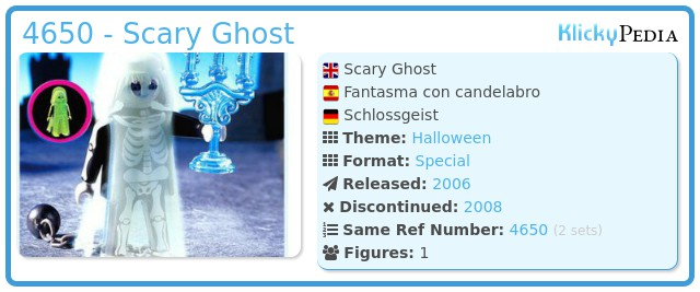 Playmobil 4650 - Scary Ghost